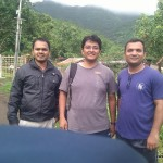 At Donaje Village - start of trekking