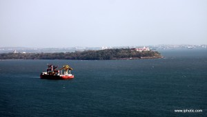 Panjim view from Fort Aguada